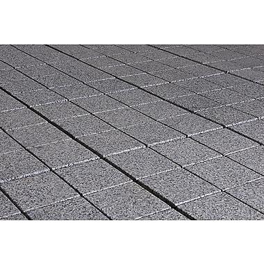 Kontiki Interlocking 11 3/4in. x 11 3/4in. Granite Tile, Dark Gray