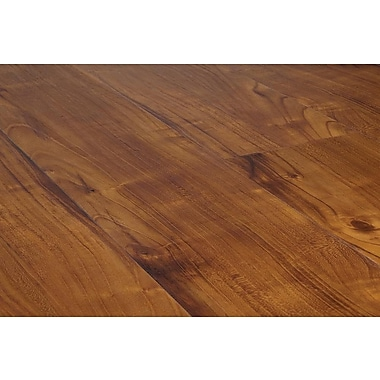 Vesdura 4.2 mm Click Lock Vinyl Plank Flooring, English Walnut