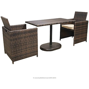Kontiki Monte Carlo Series Patio Bistro Set, 3 Piece