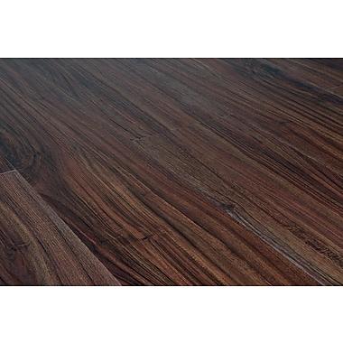 Vesdura 4.2 mm Click Lock Vinyl Plank Flooring, Teak Espresso