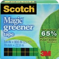 Scotch® Magic™ Greener Tape 812, 3/4in. x 25 yds, 1in. Core, Each