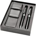 Natico Ballpoint and Rollerball Pen Set, Black