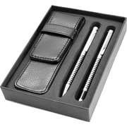 Natico Designer Striped Ballpoint and Rollerball Pen Set