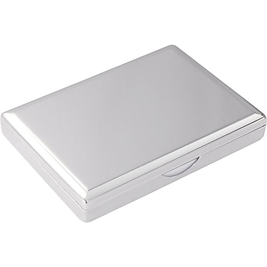 Natico Note Paper Box, Silver
