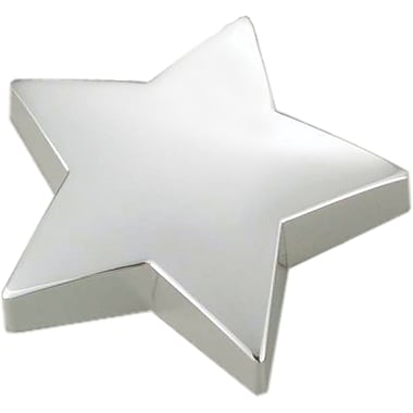 Natico Paperweight, Silver Star