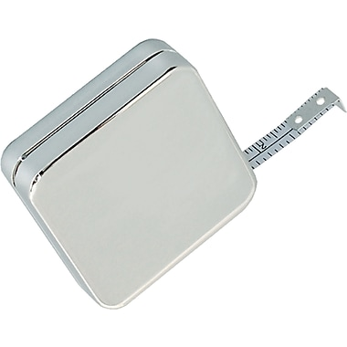 Natico Silver Square Tape Measure, 39