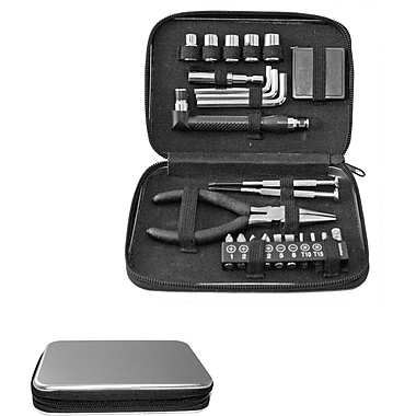 Natico 24 Pieces Metal Tool Kit