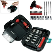 Natico 25 Pieces Metal Tool Kit