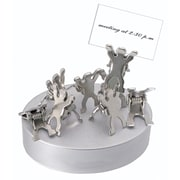 Natico Silver Magnetic Teamwork Clips on Base