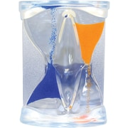 Natico inverse Flow Liquid Timer, Blue and Orange
