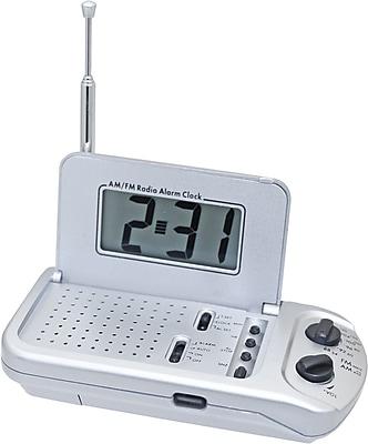 travel alarm clock radio usa. Black Bedroom Furniture Sets. Home Design Ideas