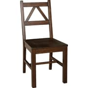 Linon Titian Wood Chair, Antique Tobacco