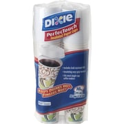 Dixie PerfecTouch 10 oz. Hot Cups and Lids, 50/Pack (5310COMBO600)
