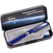 Fisher Space Pen Blueberry X-750 Ballpoint Pen, Medium Point, Black Ink, Each