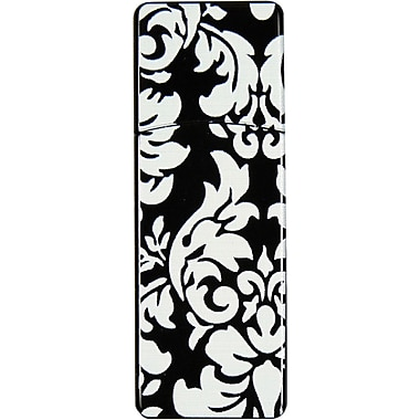 Emtec Swivel 8GB USB 2.0 Flash Drive, Black Paisley