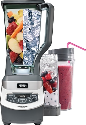 Ninja Professional Blender with Single Serve Blending Cups 57512