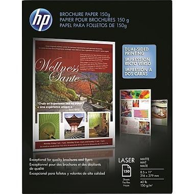 HP Color Laser Brochure Paper 150g 8 1/2