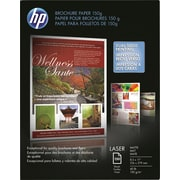 "HP Color Laser Brochure Paper 150g 8 1/2"" x 11"" Matte 150/pack (Q6543A)"