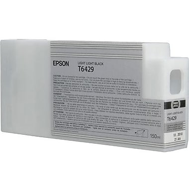 Epson T642 Light Light Black UltraChrome HDR Ink Cartridge (T642900), 150ml
