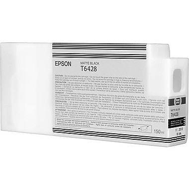 Epson T642 Matte Black UltraChrome HDR Ink Cartridge (T642800), 150ml