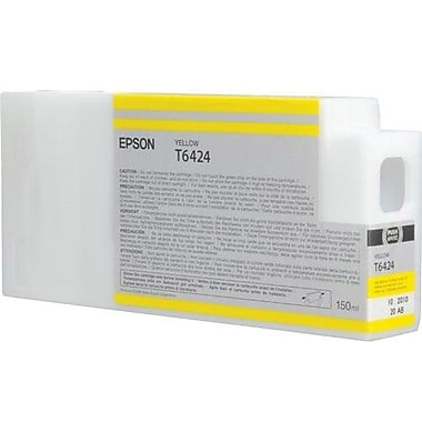 Epson T642 Yellow UltraChrome HDR Ink Cartridge (T642400), 150ml