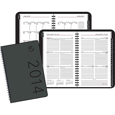 2014 AT-A-GLANCE® Contemporary Weekly/Monthly Planner, 4 7/8in. x 8in.