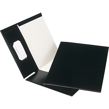 Oxford® Earthwise® 100% Recycled Hi-Gloss Twin-Pocket Folders, 5/Pack
