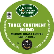 Green Mountain Coffee® Three Continent Blend Coffee K-Cup® Packs, 24/Bx