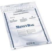 PM® SecurIT Plastic Disposable Deposit Money Bags, 100 per Pack
