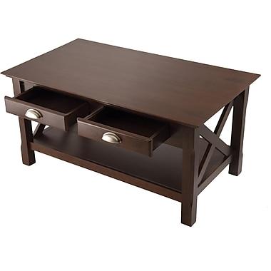 Winsome Trading Xola Wood Coffee Table, Cappuccino, Each (40538WTI)