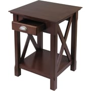 Winsome Xola 25 x 20 x 19.13 Composite Wood Night Stand, Cappuccino