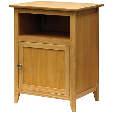 Winsome 25in. x 18.9in. x 14.96in. Wood End/Night Table, Natural