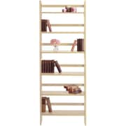 Winsome Solid/Composite Wood 3-Tier Foldable Stackable Shelf, Beech