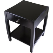 Winsome Cleo 25 x 20.47 x 20.47 Composite Wood Accent Table, Espresso