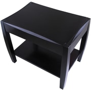 Winsome Cleo 20 x 24.79 x 16.79 Composite Wood End Table, Espresso