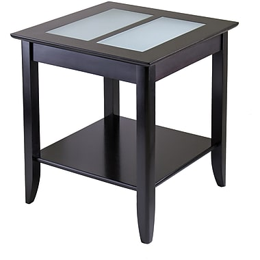 Winsome Trading Syrah Wood End Table, Espresso, Each (92122WTI)