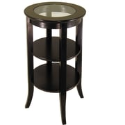 Winsome Genoa 30.2 x 18 1/2 x 18 1/2 Composite Wood Accent Table, Dark Espresso