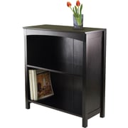 Winsome Terrace Solid/Composite Wood 3-Tier 26 Wide Storage Shelf, Espresso