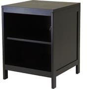 Winsome Hailey Wood Small Modular TV Stand, Dark Espresso