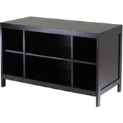 Winsome Hailey Wood Large Modular TV Stand, Dark Espresso