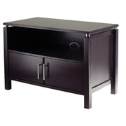 Winsome Linea Wood TV Stand, Dark Espresso