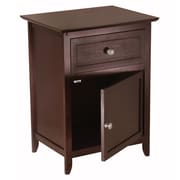 Winsome Trading Wood End Table, Espresso, Each (92815WTI)