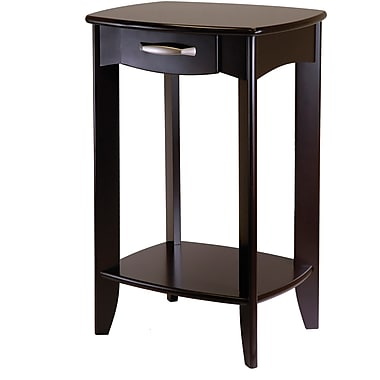 Winsome Trading Danica Wood Side Table, Espresso, Each (92820WTI)