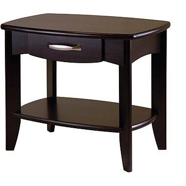 Winsome Trading Danica Wood End Table, Espresso, Each (92824WTI)