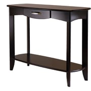 Winsome Trading Danica Wood Console Table, Espresso, Each (92840WTI)