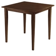 "Winsome Groveland 29.13"" x 29.53"" x 29.53"" Wood Square Dining Table With Shaker Leg, Antique ..."