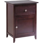 Winsome 25 x 18.9 x 14.96 Wood Night Stand/Accent Table, Brown