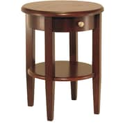 "Winsome Concord 22.48"" x 17.32"" x 17.32"" Wood Round End Table, Brown"
