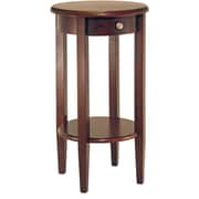 Winsome 30.2 x 17.32 x 17.32 Concord Wood Round Accent Table, Antique Walnut