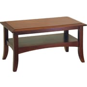 """Winsome Craftsman 18.1"""" x 33.9"""" x 18.9"""" Wood Coffee Table, Brown"""